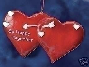 So Happy Together Heart Ornament