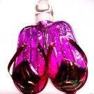 Purple Flip flop Night Light Capiz shell Tropical Beach