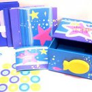 Kids Pen Pal Card Kit Notecards stickers address book