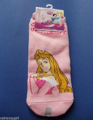Disney Princess Aurora Socks Kids size 9-11 Royal Sweetheart