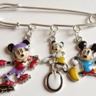 Mickey Mouse bar Pin charms athletic