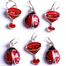 Lot 40 Ladybug and Martini summer Charms