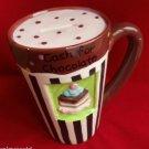 Cash for Chocolate Bank mug shaped