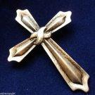 Religious Cross Pin Brooch