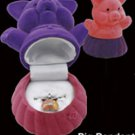 Pig Necklace Fun Gift Box silver