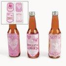 6 pack Love Potion Drink Labels