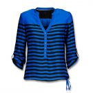 Striped blouse Shirt Top TunicFromelitsav