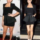 Celebrity Dress as seen on Victoria Beckham, Blake Lively, Jennifer Hudson, Black Custom Order