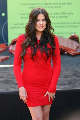 Celebrity Mini Red Sexy Dress as seen on Khloe Kardashian