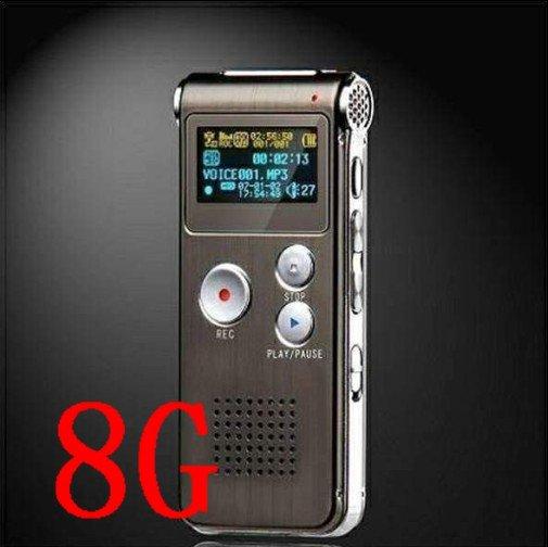 8GB Digital Voice Recorder Sound Hunter Telephone Recorder 8GB MP3 WMA Mic USB
