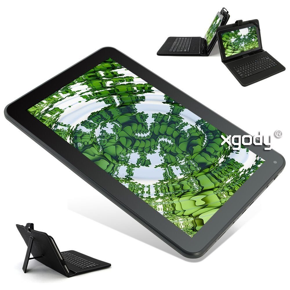 "10.1"" Android 5.1 32GB Quad Core Tablet PC Bundled Keyboard Case WIFI Bluetooth"