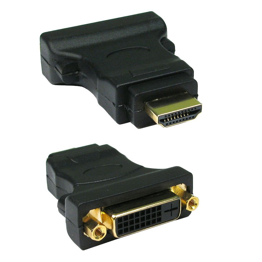 DVI Female Socket to HDMI Male Plug Adapter