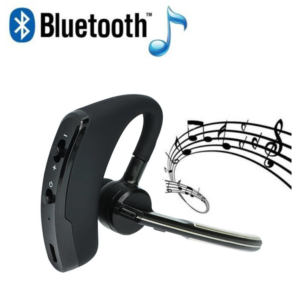 Wireless Bluetooth 4.0 Business Stereo Headset Headphone Hands free For iPhone
