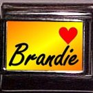 BRANDIE Custom Name Charm 9mm