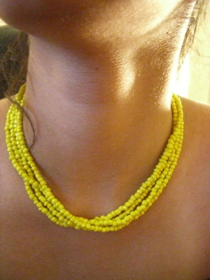 Hand Loomed Necklace Collection 5