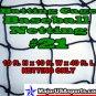 Baseball Softball Batting Cage Netting #21 10x10x40 ft. NET ONLY