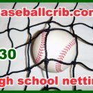 Bating cage 10x10x60 #30 High school adult indoor outdoor baseball softball netting