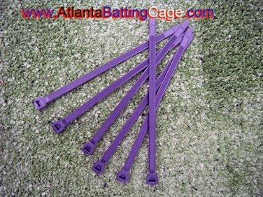 1000 Heavy duty cable zip ties 8 in. 120 lbs. Nettingnmore