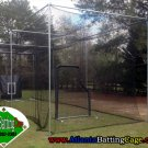 70 ft. Batting cage pro netting #42 nylon netting 12 ft. Tall 12 ft. Wide