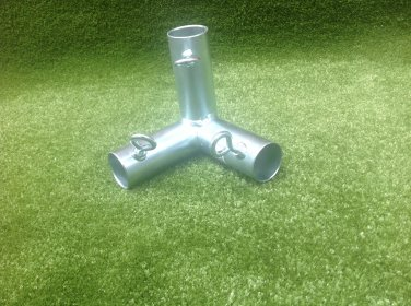 3 way pro fitting 1 5/8 in. Batting cage top corner new