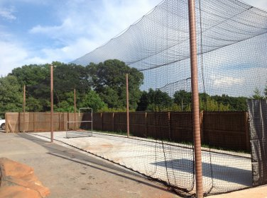 Batting cage net 12x14x40 #21 Backyard indoor outdoor baseball softball netting