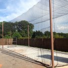Batting cage net 12x14x45 #21 Backyard indoor outdoor baseball softball netting