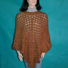 KNC Coming Home Hand Crochet Poncho Ranch Sz S-M
