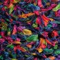 KNC Hand Crochet Ribbon 'n Rose Cloche Carnival