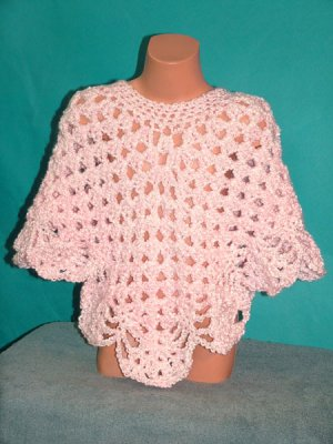 KNC Coming Home Kids' Poncho Pink Carnation Size 4