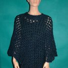 KNC Coming Home Hand Crochet Poncho Colonial Sz S-M