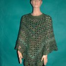 KNC Coming Home Hand Crochet Poncho Regency Sz 2X-3X