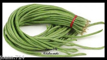 (50+)Yardlong Bean,White Seed,Asparagus Bean Seeds Vegetable Yard Long ,�ậu �ũa
