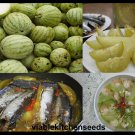 Vegetable seeds small gourd, melon seed ,แตงโมน้อย,dưa hường nấu canh,(25 )