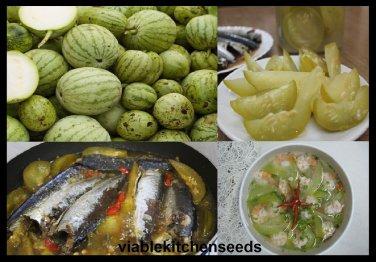 Vegetable seeds small gourd, melon seed ,����ม��อย,dưa hư�ng nấu canh,(25 )