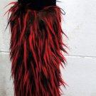 'Rage' Black Top Red/Brown Spikes (sl1036)