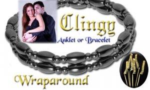 Hematite Wrap around Bracelet