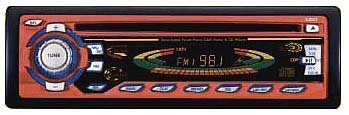 CYCLONE AUDIO DETACHABLE FACE CD RECEIVER