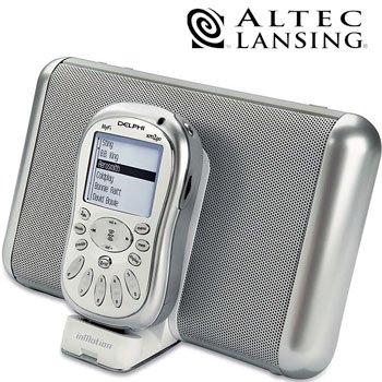 ALTEC LANSING PORTABLE SPEAKER SYSTEM/ DOCKING STATION