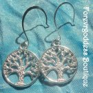 Silver  Tree of Life  earrings      Item# TLE  01