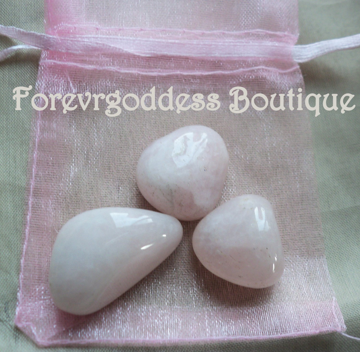 Rose quartz Crystal Kit  Item # RQK 03