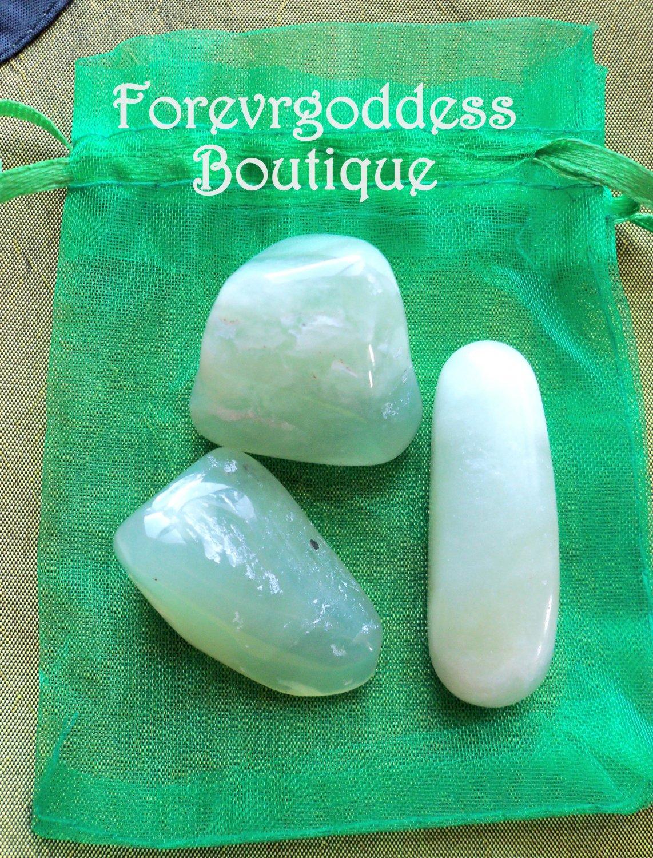 Lite Green Serpentine Crystal kit # 01