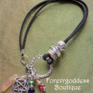 Pentagram/ Sunshine aura point  Bracelet