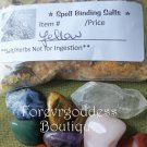 Spell Bind ritual  Salt/ Herb Mix – Yellow Item #SBY 01-02
