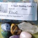 Spell Binding Salt/Herb Mix – Blue  Item #SBB 01-02