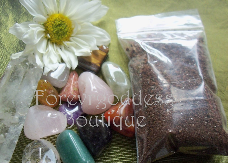 Blessed offerings stone/seed kit  item# BO 06- 10