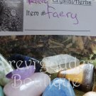 Faery Crystal / herbs Kit  # FH 01- 02