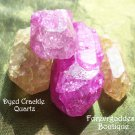 DYED Crackle quartz # CQYP 01-02