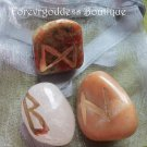 Healing, break bad habits, positive outcome Bind Runes