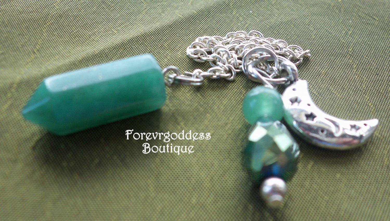 Aventurine/ moon   Pendulum