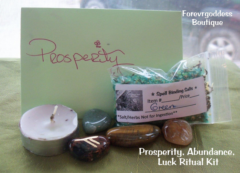Prosperity  Ritual Kit  Item PRSK 01-02